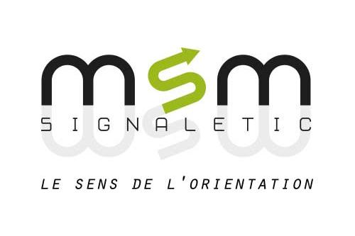 client anthony vidal msm signaletic création du logo et site web